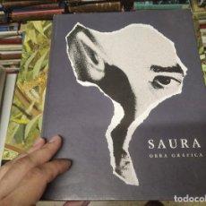 Libros de segunda mano: ANTONIO SAURA . OBRA GRÁFICA . MUSEO CASA DE LA MONEDA . 1ª EDICIÓN 2000. FOTOS JOAQUÍN CORTÉS.. Lote 213957798