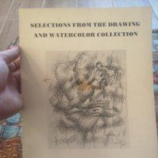 Libros de segunda mano: MILS COLLEGE ART GALLERY, OAKLAND, CALIFORNIA. DRAWING AND WATERCOLOR COLLECTION. Lote 215383253