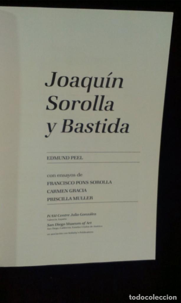 Libros de segunda mano: JOAQUÍN SOROLLA - EDMUND PEEL - EDICIONES POLÍGRAFA - Foto 2 - 215399326