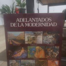 Libros de segunda mano: ADELANTADOS DE LA MODERNIDAD, REGOYOS, SOROLLA, ITURRINO, ZULOAGA, NONELL... BANCO DE BILBAO. Lote 215481453