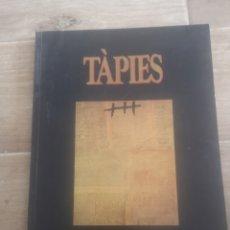 Libros de segunda mano: TAPIES, LOS GENIOS DE LA PINTURA. Lote 215528513