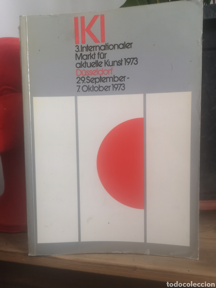 IKI - 3. INTERNATIONALER MARKT FÜR AKTUELLE KUNST 1973* DÜSSELDORF SEP-OCT 1973. 639 PGS. (Libros de Segunda Mano - Bellas artes, ocio y coleccionismo - Pintura)