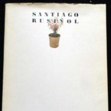 Libros de segunda mano: SANTIAGO RUSIÑOL - CATÀLEG EXPOSICIÓ - 1981. Lote 215755655