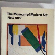 Libros de segunda mano: THE MUSEUM OF MODERN ART NEW YORK.. Lote 215983963