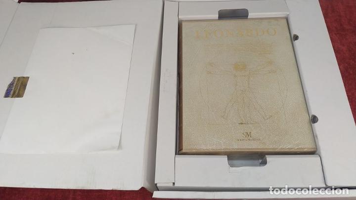 Libros de segunda mano: LEONARDO. GRAN LIBRO DE COLECCIONISTA. ED. SCRIPTA MANEANT. 416 PAGS. ITALIA. 2008(?) - Foto 2 - 216016573