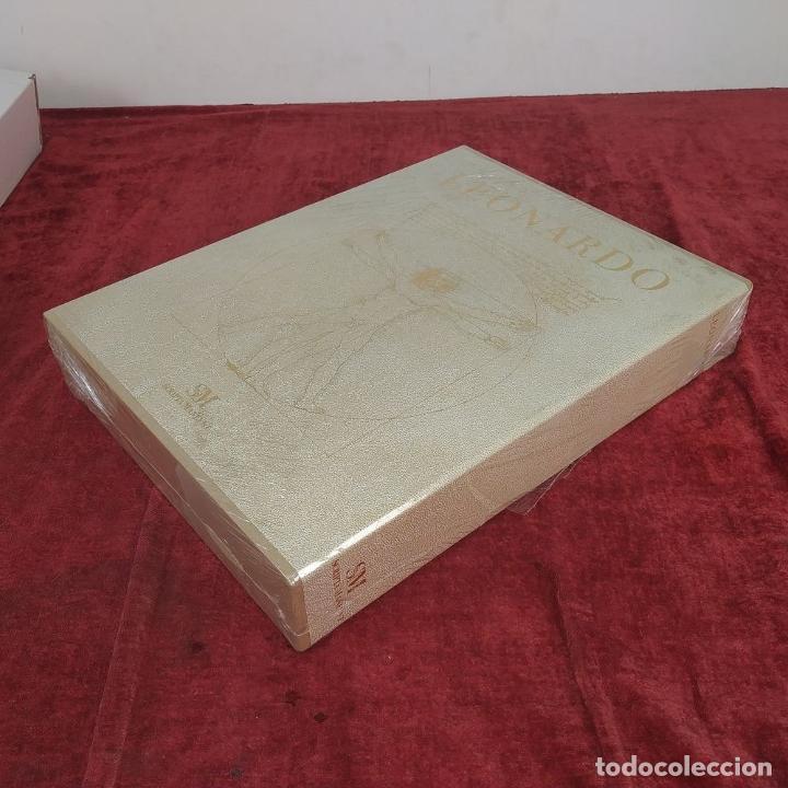 Libros de segunda mano: LEONARDO. GRAN LIBRO DE COLECCIONISTA. ED. SCRIPTA MANEANT. 416 PAGS. ITALIA. 2008(?) - Foto 8 - 216016573
