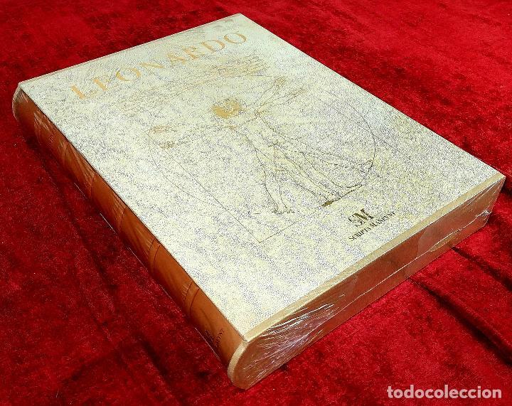 LEONARDO. GRAN LIBRO DE COLECCIONISTA. ED. SCRIPTA MANEANT. 416 PAGS. ITALIA. 2008(?) (Libros de Segunda Mano - Bellas artes, ocio y coleccionismo - Pintura)