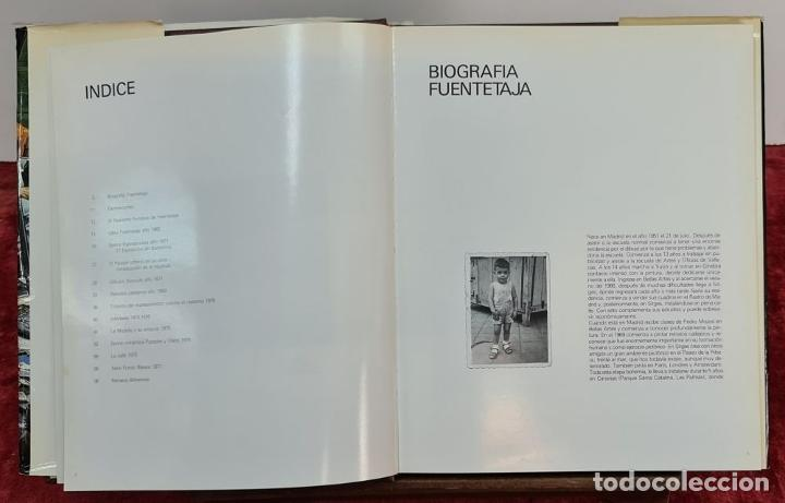 Libros de segunda mano: FUENTETAJA. BIOGRAFIA Y OBRA DE 1965 A 1983. EDICIONES RASGOS. 1983. - Foto 2 - 216432838