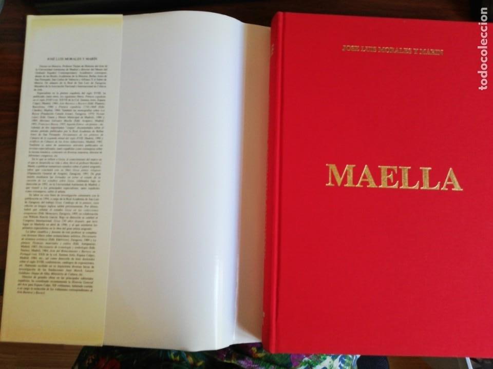 Libros de segunda mano: MARIANO SALVADOR MAELLA, VIDA Y OBRA - JOSE LUIS MORALES Y MARIN. 1996 - Foto 2 - 216785936