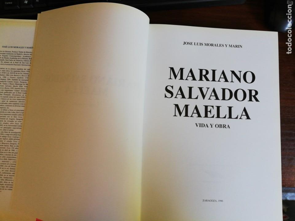 Libros de segunda mano: MARIANO SALVADOR MAELLA, VIDA Y OBRA - JOSE LUIS MORALES Y MARIN. 1996 - Foto 5 - 216785936