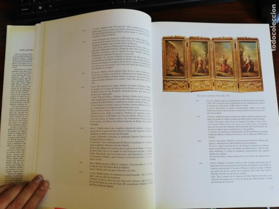Libros de segunda mano: MARIANO SALVADOR MAELLA, VIDA Y OBRA - JOSE LUIS MORALES Y MARIN. 1996 - Foto 7 - 216785936