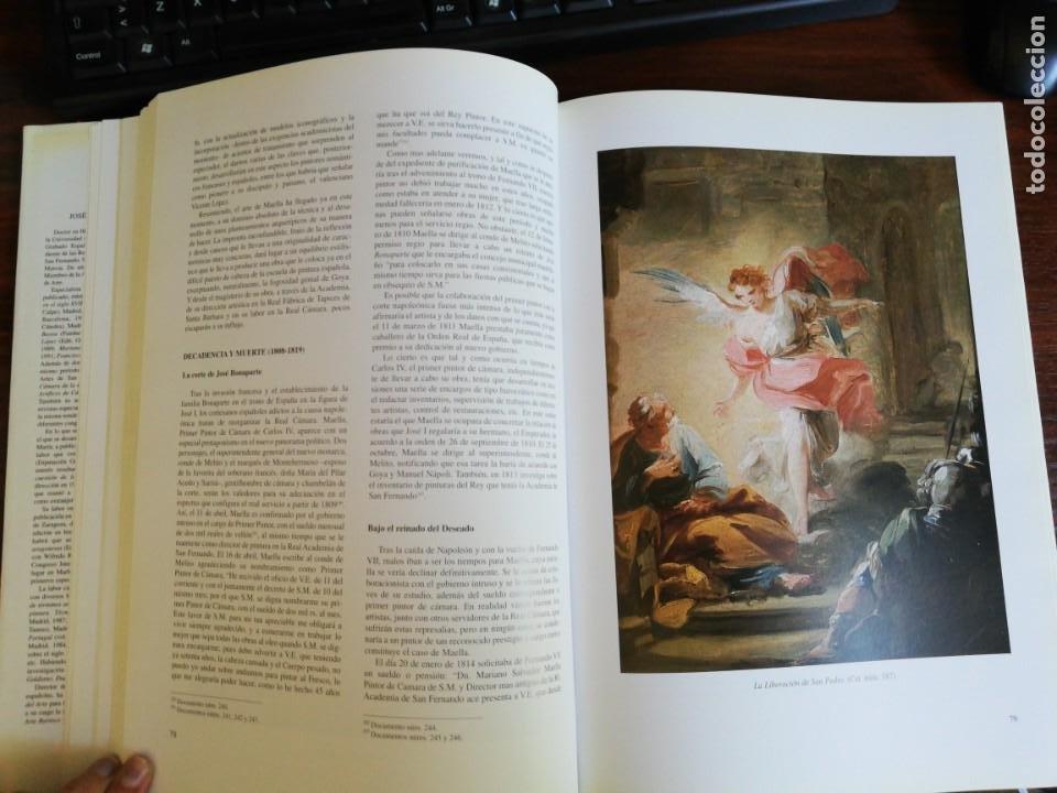 Libros de segunda mano: MARIANO SALVADOR MAELLA, VIDA Y OBRA - JOSE LUIS MORALES Y MARIN. 1996 - Foto 8 - 216785936