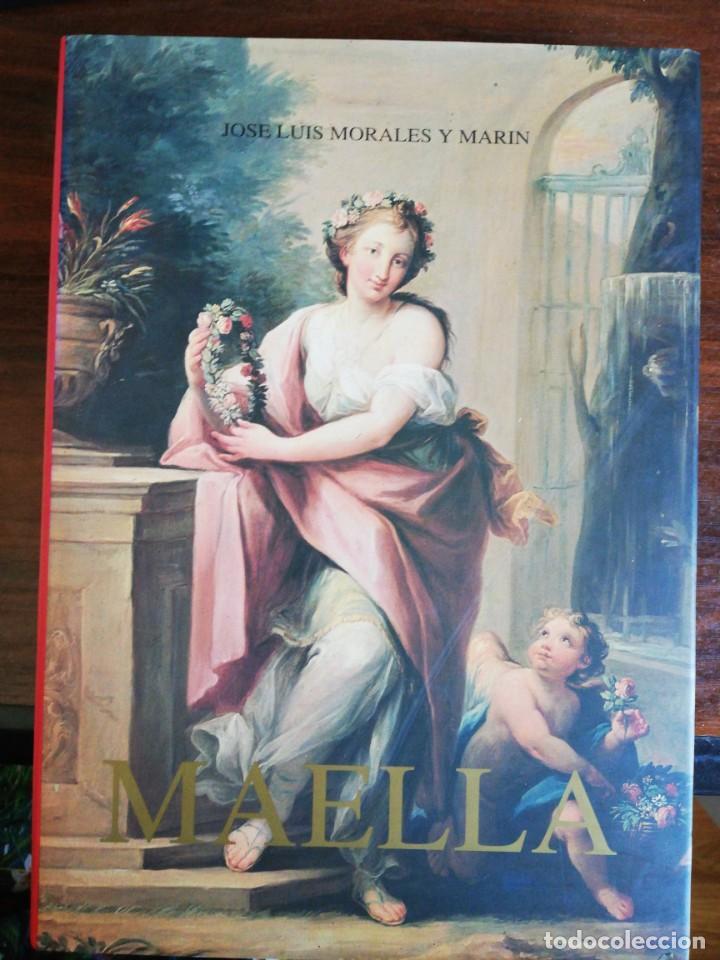 MARIANO SALVADOR MAELLA, VIDA Y OBRA - JOSE LUIS MORALES Y MARIN. 1996 (Libros de Segunda Mano - Bellas artes, ocio y coleccionismo - Pintura)