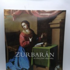 Libri di seconda mano: ZURBARÁN LA OBRA FINAL 1650 1664 MUSEO ARTES BILBAO 2000 Y SALA BBK 2001.. Lote 217030228