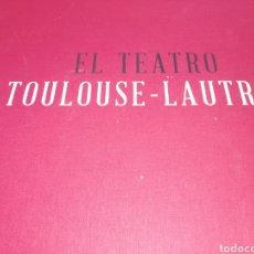Libros de segunda mano: LIBRO TEATRO TOULUSE - LAUTRIEC.. EDITORIAL ARTIKA.. 30 LITOGRAFÍA.. ESTA SIN ABRIR..TIRADA 2928 EJE. Lote 217265352