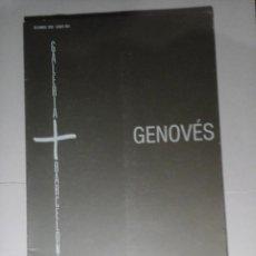 Libros de segunda mano: JUAN GENOVÉS. PINTURAS 1990. GALERÍA BARCELONA. DICIEMBRE-ENERO 1991. PINTURA. NUEVA FIGURACIÓN.RARO. Lote 217549163