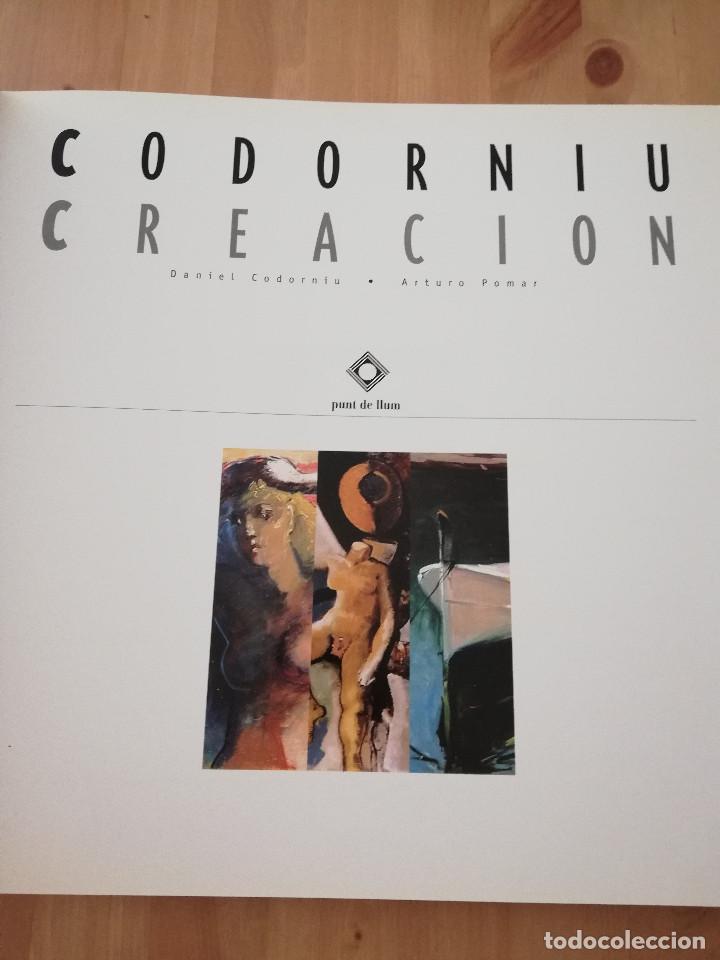 Libros de segunda mano: CODORNIU CREACIÓN (DANIEL CODORNIU / ARTURO POMAR) - Foto 2 - 217551945
