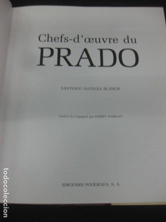 Libros de segunda mano: CHEFS-DOEUVRE DU PRADO. SANTIAGO ALCOLEA BLANCH. EDICIONES POLIGRAFA, 1991. MUSEO DEL PRADO - Foto 2 - 217698892