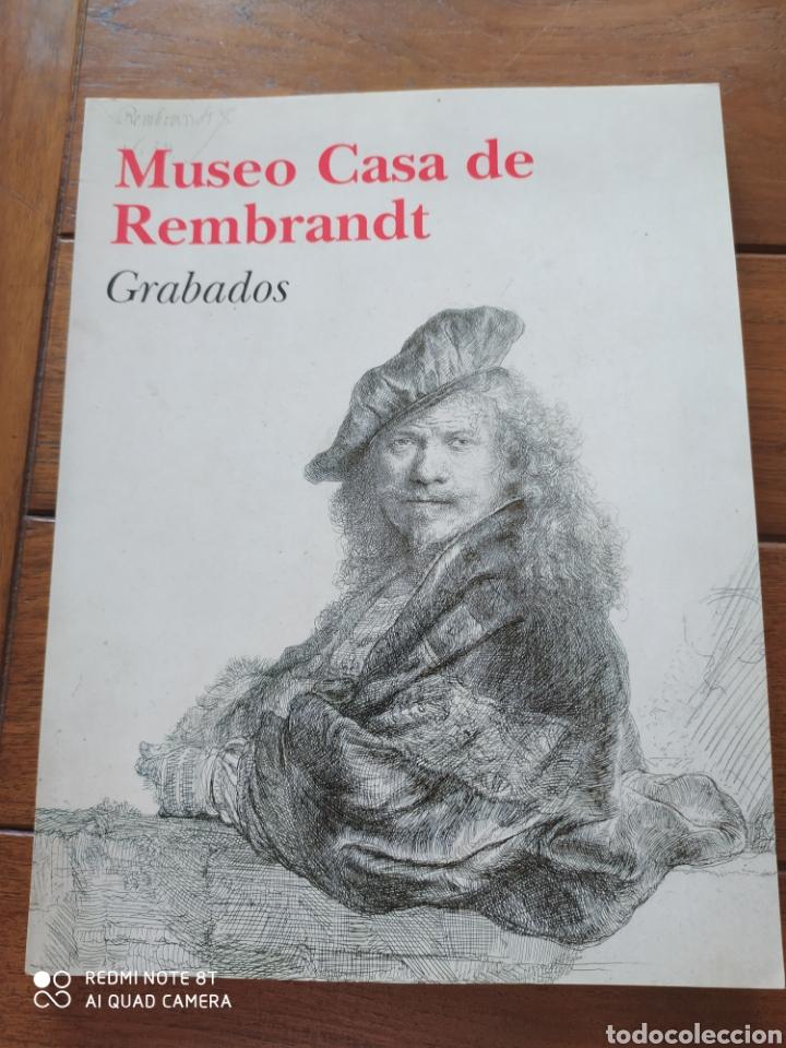 MUSEO CASA DE REMBRANDT GRABADOS (Libros de Segunda Mano - Bellas artes, ocio y coleccionismo - Pintura)