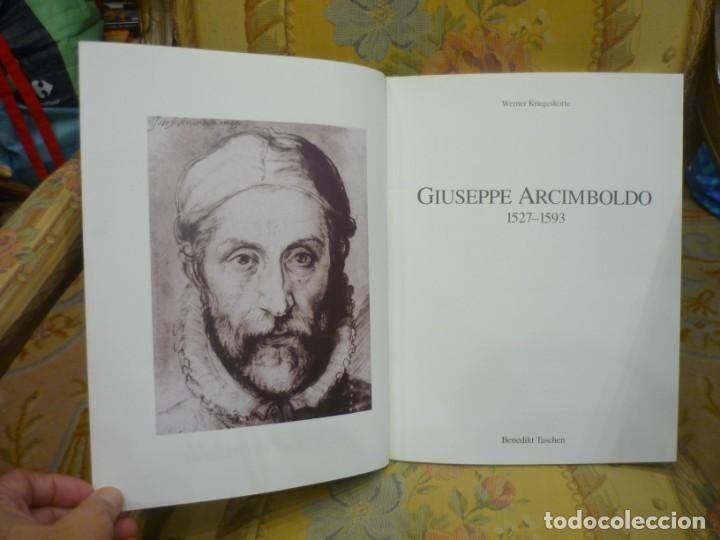 Libros de segunda mano: GIUSEPPE ARCIMBOLDO 1527-1593, DE WERNER KRIEGESKORTE. TASCHEN 1.991. ILUSTRADO. - Foto 3 - 218546387
