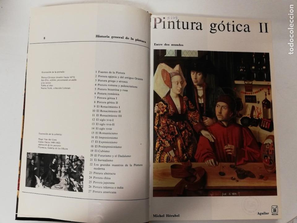 Libros de segunda mano: PINTURA GÓTICA I y II. MICHEL HÉRUBEL. AGUILAR, 1969 - Foto 4 - 218734215