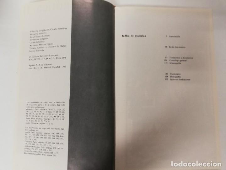 Libros de segunda mano: PINTURA GÓTICA I y II. MICHEL HÉRUBEL. AGUILAR, 1969 - Foto 3 - 218734215