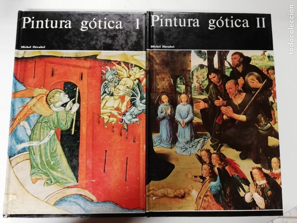 PINTURA GÓTICA I Y II. MICHEL HÉRUBEL. AGUILAR, 1969 (Libros de Segunda Mano - Bellas artes, ocio y coleccionismo - Pintura)
