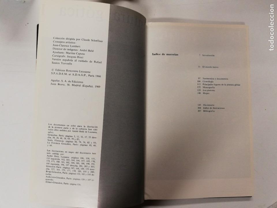 Libros de segunda mano: PINTURA GÓTICA I y II. MICHEL HÉRUBEL. AGUILAR, 1969 - Foto 7 - 218734215