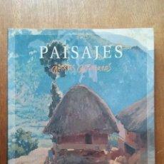 Libros de segunda mano: PAISAJES, ARTISTAS ASTURIANOS, HERCULES ASTUR EDICIONES, ASTURIAS, PINTURA, 2006. Lote 218840842