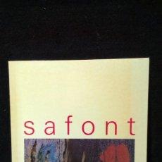 Libros de segunda mano: SAFONT - CONSELLERIA DE CULTURA. Lote 218989177