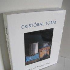 Libros de segunda mano: CRISTÓBAL TORAL. MUSEO DE ARTE DE LIMA. DEDICADO POR AUTOR CON DIBUJO. EXPOSICIÓN ITINERANTE 1997-98. Lote 219108337