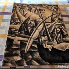 Libros de segunda mano: POETIQUES MODERNES OBRA SOBRE PAPER A LA COL.LECCIO SERRA CASAL SOLLERIC 2002. Lote 219409175