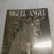 Livros em segunda mão: MIGUEL ANGEL BUONARROTI PINTOR ESCULTOR ARQUITECTO LORETA SANTINI 104 LAMINAS EN COLORES. Lote 221333592