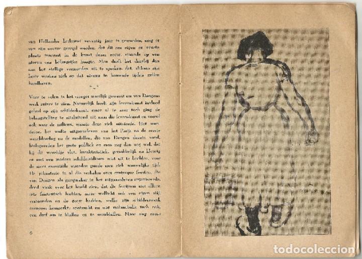 Libros de segunda mano: KEES VAN DONGEN - PINTOR - AMSTERDAM 1947 - 38 PÁGINAS - Foto 4 - 221780682