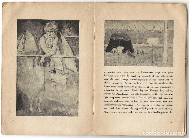 Libros de segunda mano: KEES VAN DONGEN - PINTOR - AMSTERDAM 1947 - 38 PÁGINAS - Foto 5 - 221780682