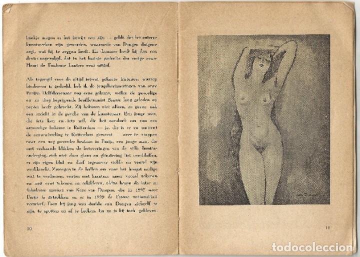 Libros de segunda mano: KEES VAN DONGEN - PINTOR - AMSTERDAM 1947 - 38 PÁGINAS - Foto 6 - 221780682