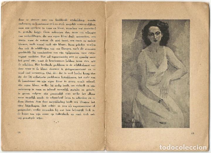 Libros de segunda mano: KEES VAN DONGEN - PINTOR - AMSTERDAM 1947 - 38 PÁGINAS - Foto 7 - 221780682