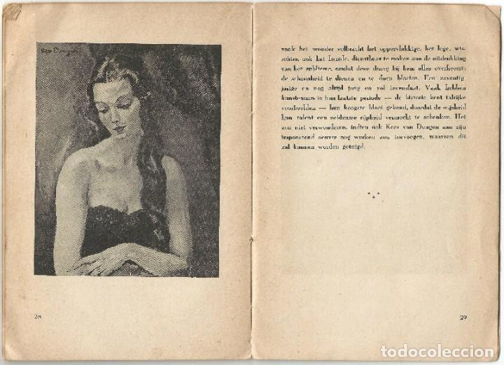 Libros de segunda mano: KEES VAN DONGEN - PINTOR - AMSTERDAM 1947 - 38 PÁGINAS - Foto 8 - 221780682