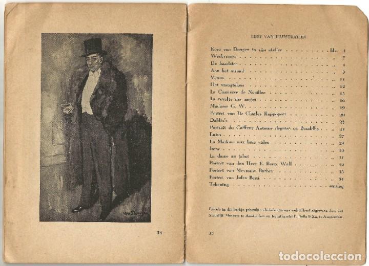 Libros de segunda mano: KEES VAN DONGEN - PINTOR - AMSTERDAM 1947 - 38 PÁGINAS - Foto 9 - 221780682