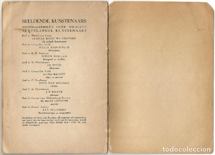Libros de segunda mano: KEES VAN DONGEN - PINTOR - AMSTERDAM 1947 - 38 PÁGINAS - Foto 10 - 221780682
