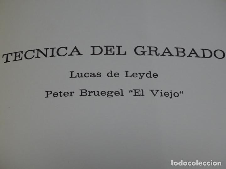 Libros de segunda mano: TÉCNICA DEL GRABADO 1969.JACQUES LAVALLEYE. - Foto 9 - 222086662