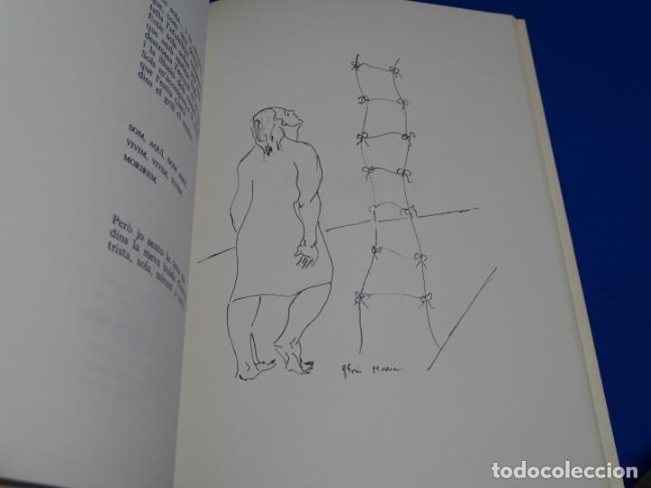 Libros de segunda mano: ATIBES.POEMAS IL-LUSTRATS.GLORIA MORERA.CON DEDICATORIA. - Foto 3 - 222170845