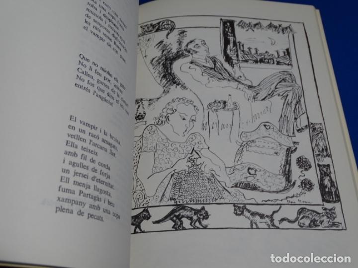 Libros de segunda mano: ATIBES.POEMAS IL-LUSTRATS.GLORIA MORERA.CON DEDICATORIA. - Foto 5 - 222170845