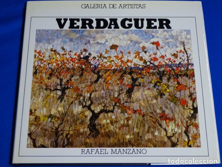 JOSEP VERDAGUER DEDICADO POR EL AUTOR.RAFAEL MANZANO. (Libros de Segunda Mano - Bellas artes, ocio y coleccionismo - Pintura)