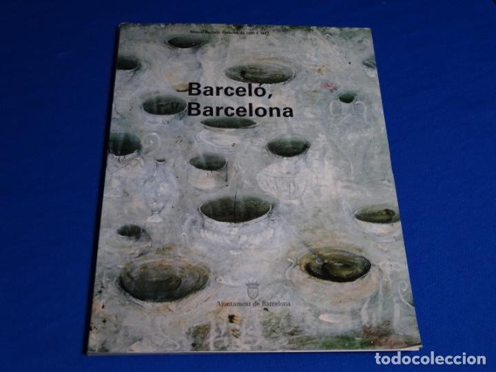 MIQUEL BARCELO.PINTURES DE 1985-1987.AJUNTAMENT DE BARCELONA. (Libros de Segunda Mano - Bellas artes, ocio y coleccionismo - Pintura)