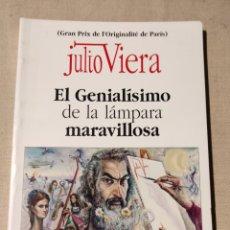 Libros de segunda mano: JULIO VIERA. EL GENIALISMO DE LA LÁMPARA MARAVILLOSA.. Lote 252248155