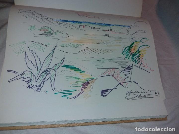 SALVADOR MASANA, AVENTURA DE UN PINTOR 1983. DIBUJO DEDICADO Y FIRMADO EN PRIMERA PAGINA (Libros de Segunda Mano - Bellas artes, ocio y coleccionismo - Pintura)