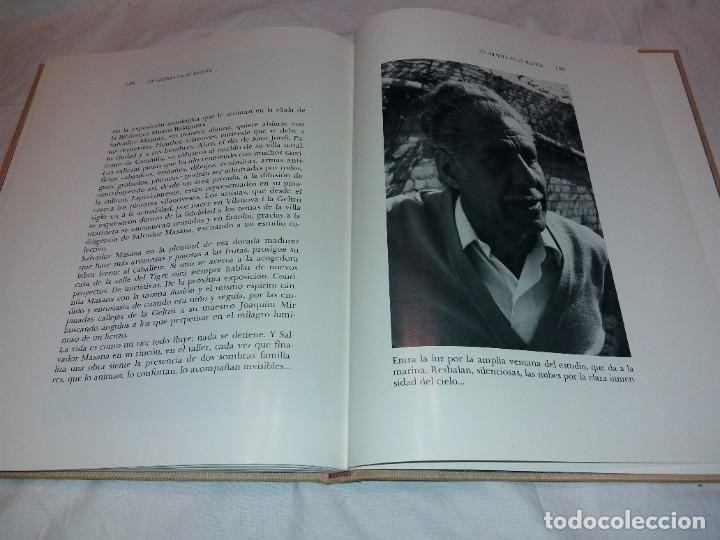 Libros de segunda mano: SALVADOR MASANA, AVENTURA DE UN PINTOR 1983. DIBUJO DEDICADO Y FIRMADO EN PRIMERA PAGINA - Foto 8 - 222324466