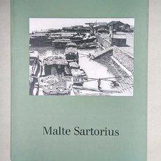 Libros de segunda mano: MALTE SARTORIUS. WERKVERZEICHNIS DER DRUCKGRAPHIK - CATÁLOGO RAZONADO DE GRABADOS 1987-1994. FIRMADO. Lote 222715768