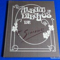 Libros de segunda mano: ALBUM DE DIBUJOS DE FRANCISCO GIMENO.EJEMPLAR 386 DE 625.. Lote 222844945
